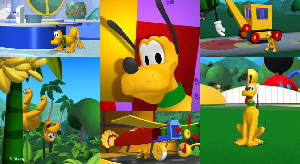 Work - Hidden Pluto Disney Channel - Maga Animation Studio